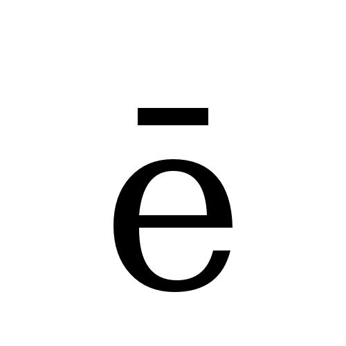 DejaVu Serif, Book - ē