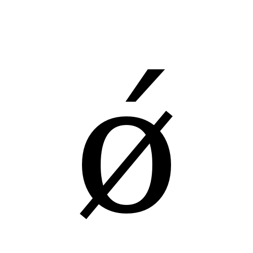 DejaVu Serif, Book - ǿ