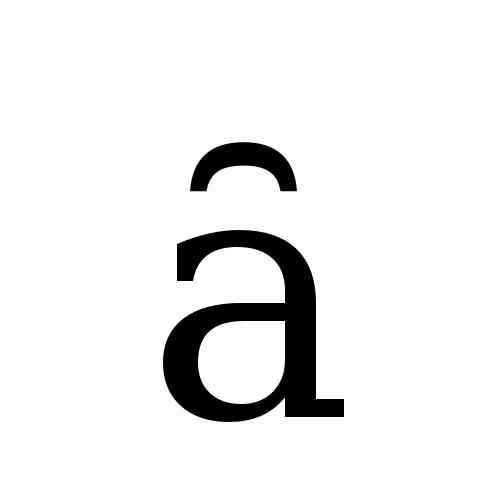 DejaVu Serif, Book - ȃ