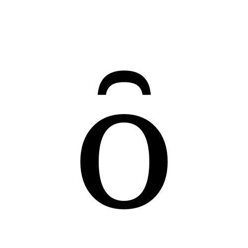 DejaVu Serif, Book - ȏ