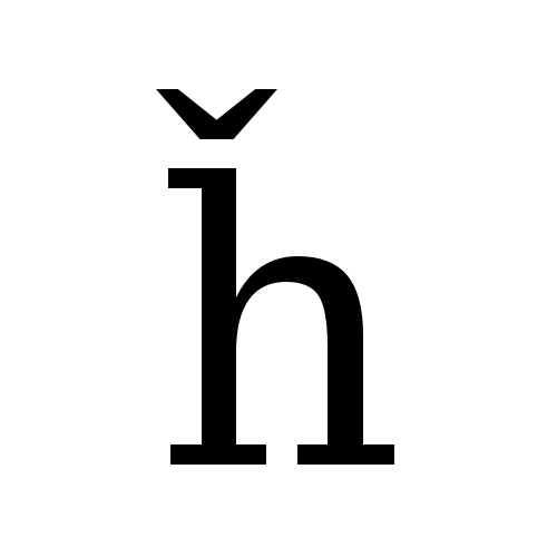 DejaVu Serif, Book - ȟ