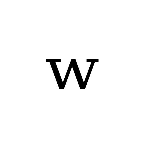 DejaVu Serif, Book - ʷ