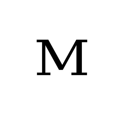 DejaVu Serif, Book - ᴹ