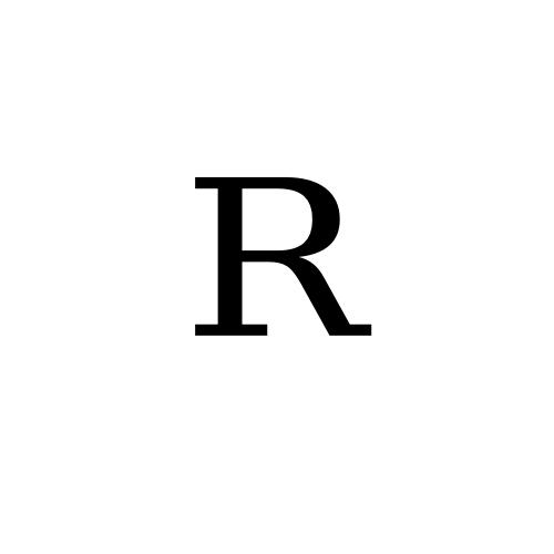 DejaVu Serif, Book - ᴿ