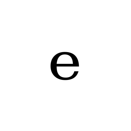 DejaVu Serif, Book - ᵉ