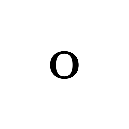 DejaVu Serif, Book - ᵒ
