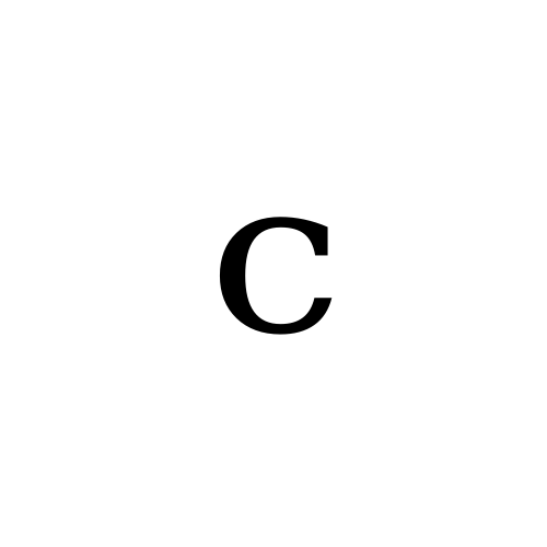 DejaVu Serif, Book - ᶜ