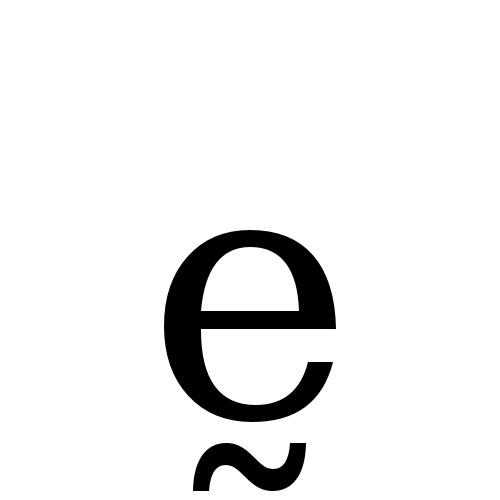 DejaVu Serif, Book - ḛ