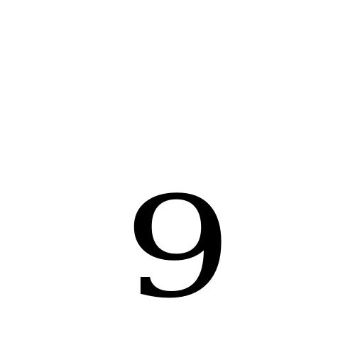 DejaVu Serif, Book - ₉