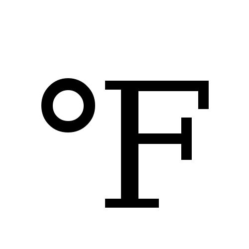 DejaVu Serif, Book - ℉