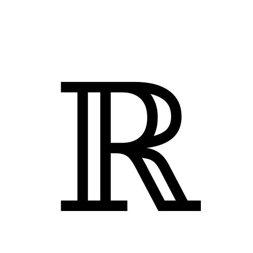 DejaVu Serif, Book - ℝ