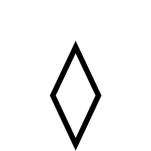 DejaVu Serif, Book - ◊