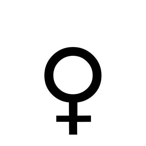 DejaVu Serif, Book - ♀