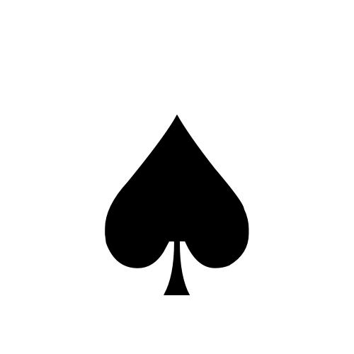 DejaVu Serif, Book - ♠