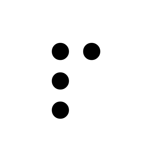 DejaVu Serif, Book - ⠏