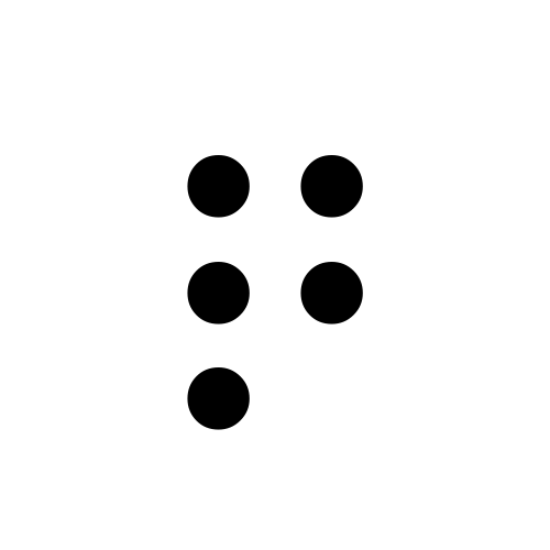 DejaVu Serif, Book - ⠟