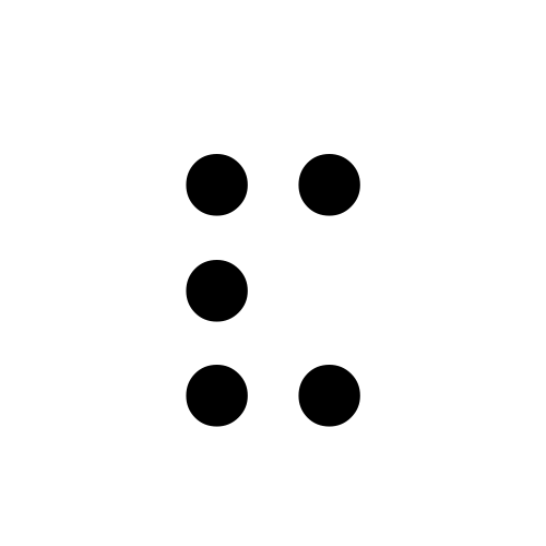 DejaVu Serif, Book - ⠯