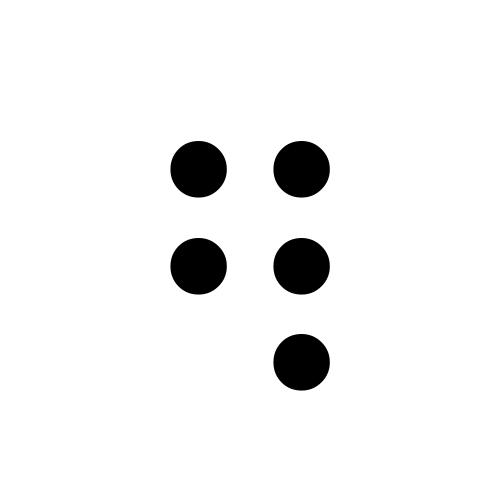 DejaVu Serif, Book - ⠻