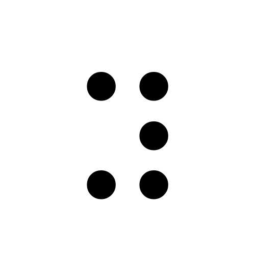 DejaVu Serif, Book - ⠽