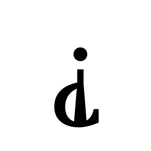 DejaVu Serif, Book - ⸘