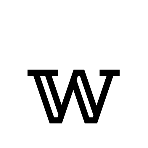 DejaVu Serif, Book - 𝕨