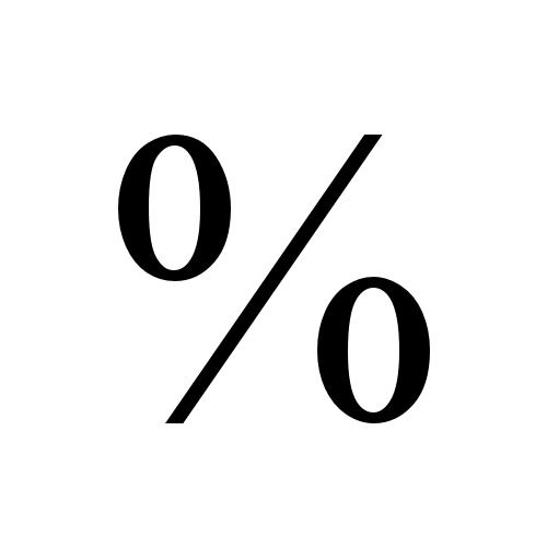 Times New Roman, Regular - %