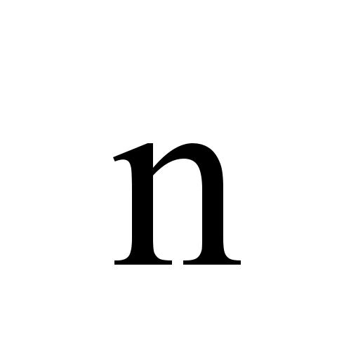 Times New Roman, Regular - n
