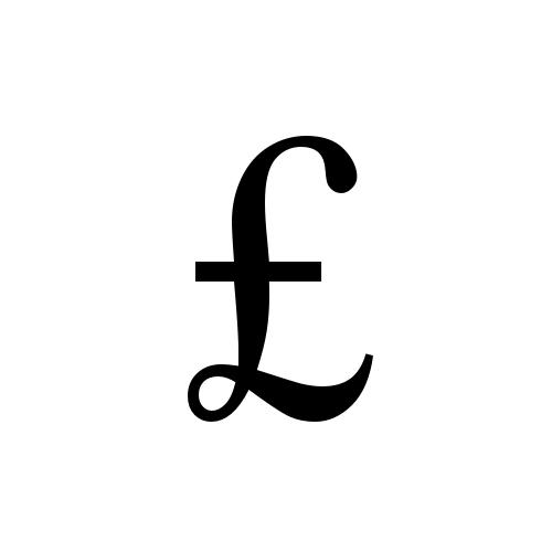 Pound Sign Times New Roman Regular Graphemica