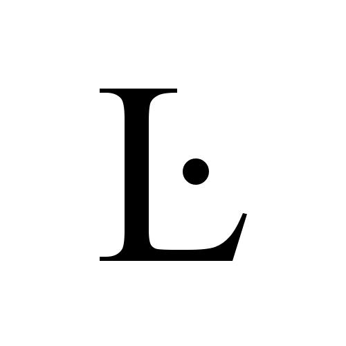 Ŀ glyphs times new roman regular