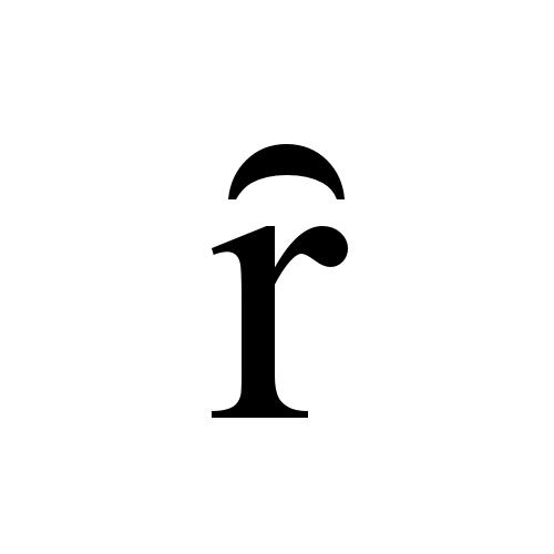 Times New Roman, Regular - ȓ