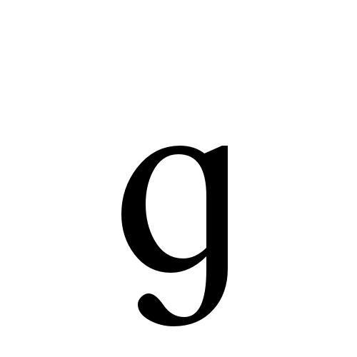 latin small letter script g times new roman regular graphemica meta altavistaventures Choice Image