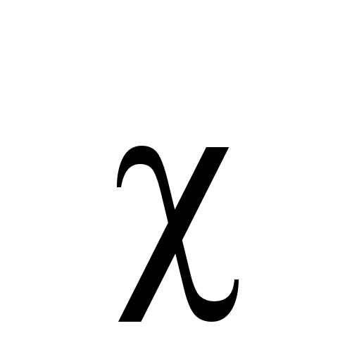 Greek Letter Chi Symbol Chi letter Simple English Wikipedia the