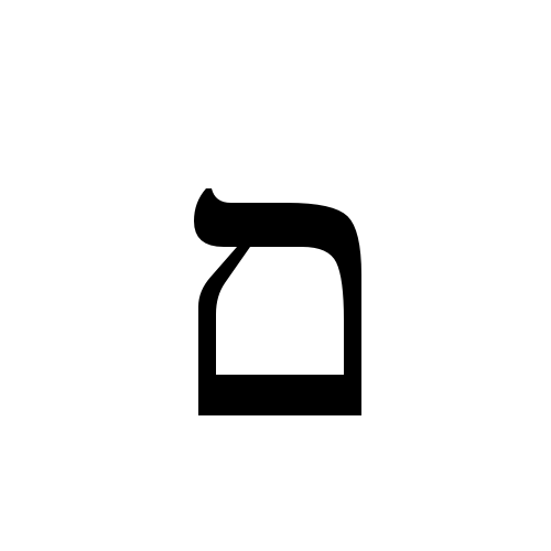 Times New Roman, Regular - ם