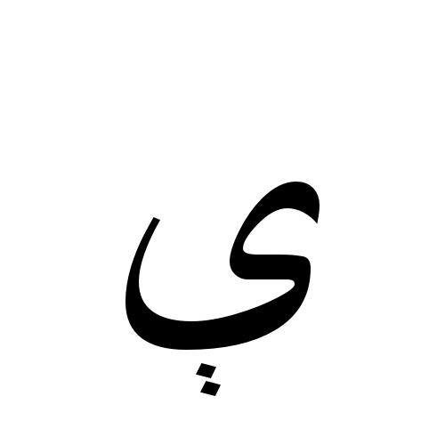 The Arabic Alphabet Letters