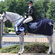 Week V USHJA National Hunter Derby winners Tiffany Morrissey and Sebastian