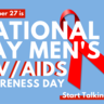 National Gay Men's HIV/AIDS Awareness Day