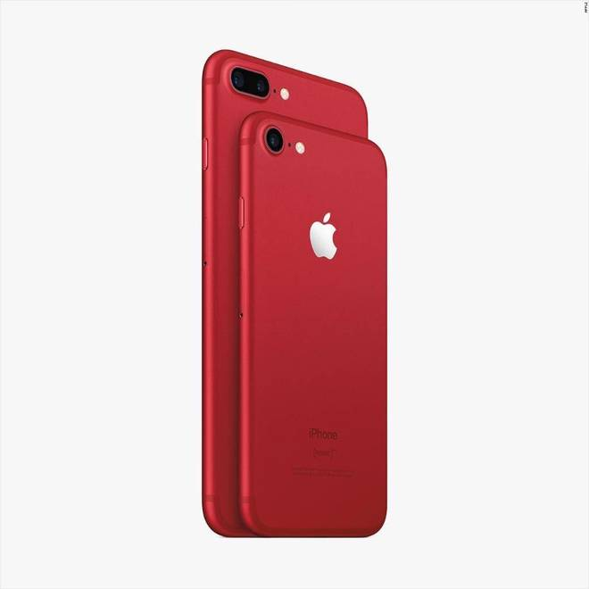 Apple's New iPhone 7 Supports (Product)Red