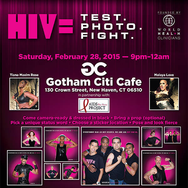 HIV Equal Hosts Event At Gotham Citi Nightclub, New Haven, CT