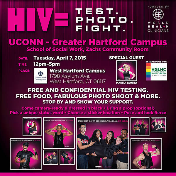 HIV Equal Testing Event Set For UCONN College Campus