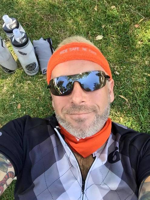 Sober Rider Replaces Darkness With Light on AIDS LifeCycle