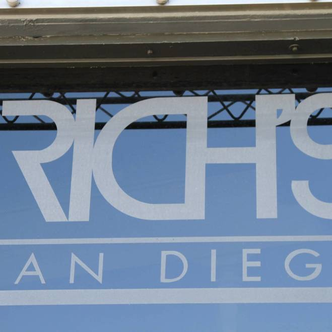 Rich's San Diego Testing Event
