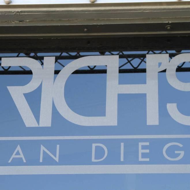 Rich's San Diego Testing Event