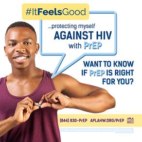 """APLA Reveals """"It Feels Good"""" PrEP Campaign"""
