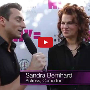 Sandra Bernhard comes to HIV Equal NYC Launch