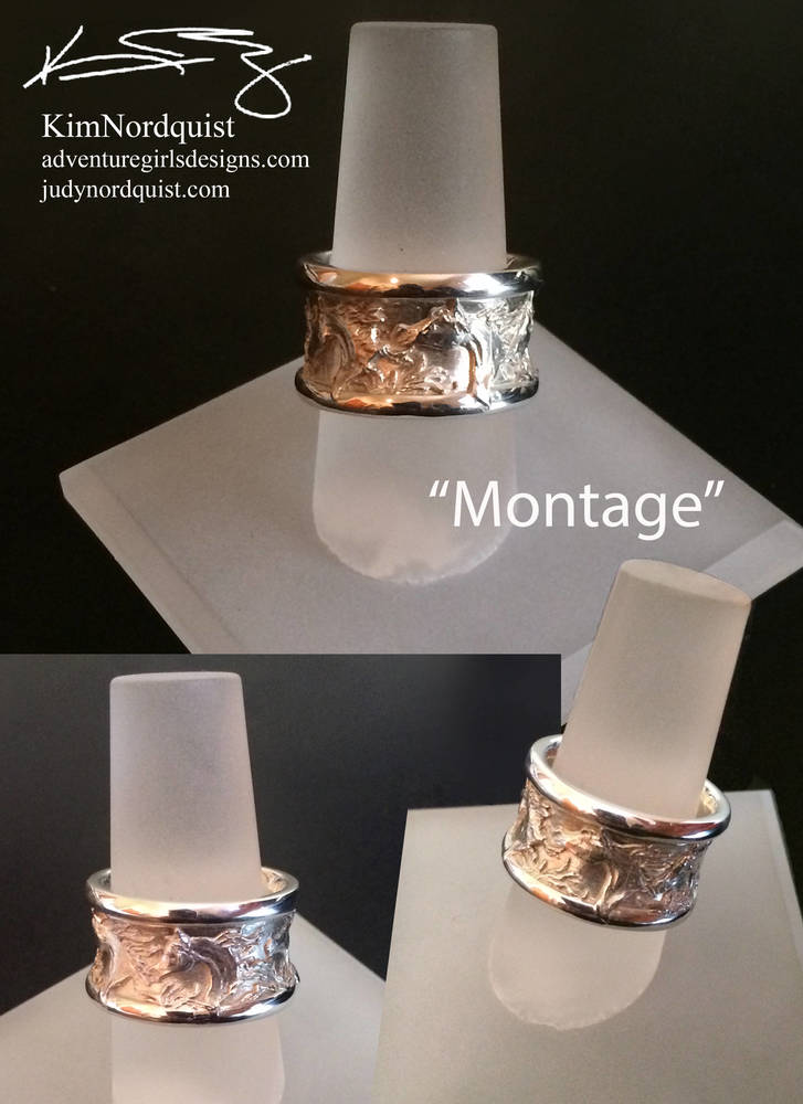 Montage Silver Ring