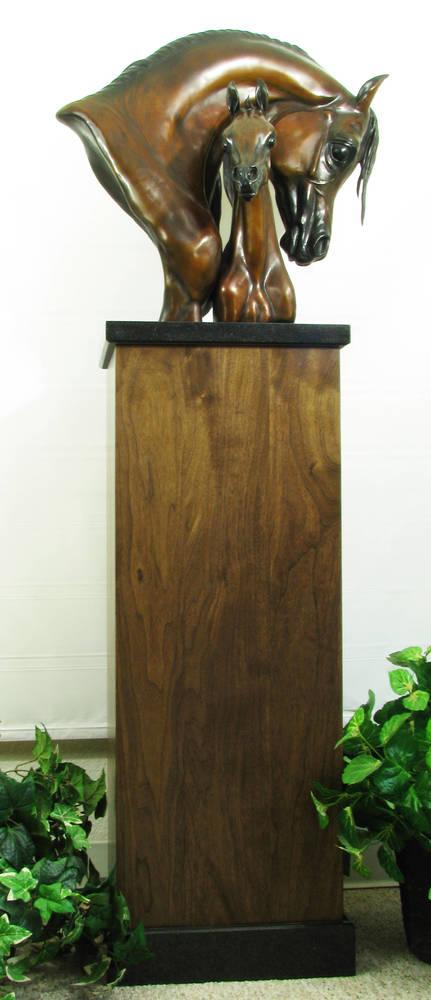 1/2 Life-size bronze