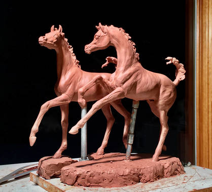 Spring Wind - Proposed Life-size bronze