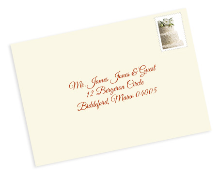 Addressing wedding invitation etiquette outer envelope properly address pocket invitations without inner envelopes stopboris Images