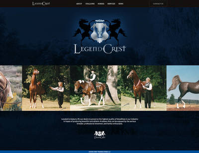 Welcome to the Legend Crest Training Stables Website