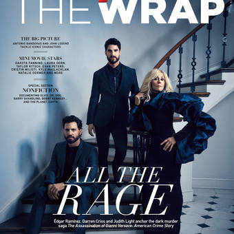 Darren Criss-Judith Light-Edgar Ramirez-The Wrap cover